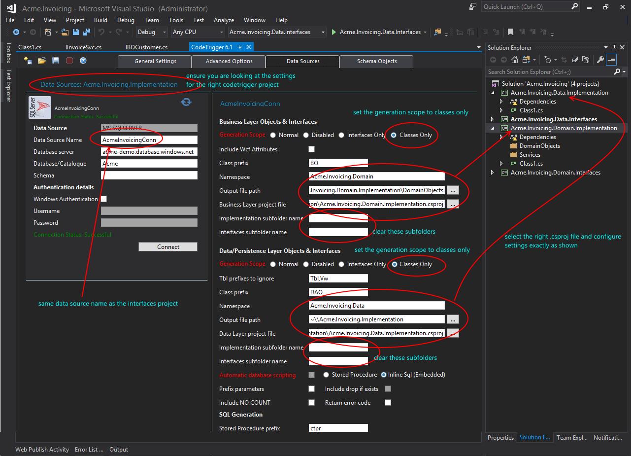 Code Trigger - Code Generation Tools For C# WPF WCF SQL