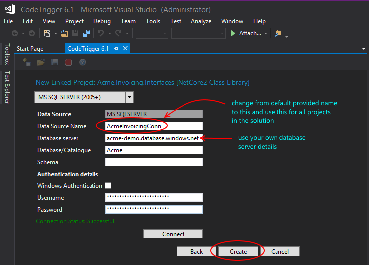 Code Trigger - Code Generation Tools For C# WPF WCF SQL